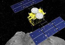 Sonda japonesa deja caer explosivo sobre asteroide