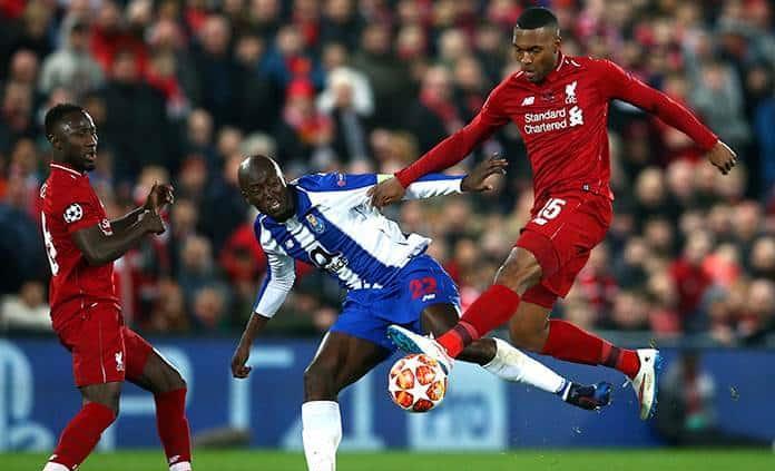 El Liverpool vence 2 - 0 al Porto en cuartos de Champions League