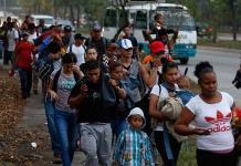 Nueva caravana migrante parte de Honduras