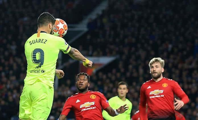 El Barcelona toma ventaja ante el Manchester United