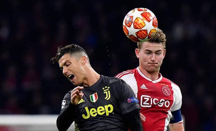 Juventus saca de Amsterdam un empate en la ida de cuartos en Champions