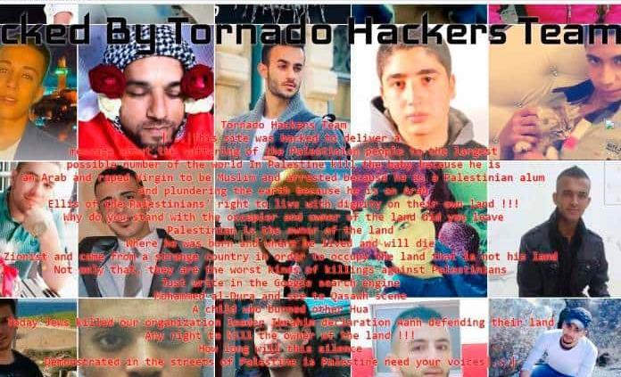 """""""Hackers"""" palestinos toman página web de San Nicolás Tolentino"""