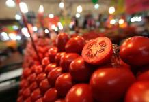 Sube hasta 30 por ciento precio de exportaciones de tomate