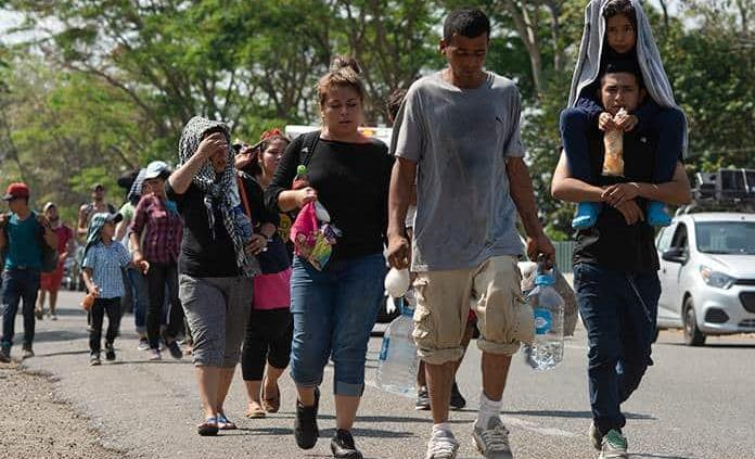 Caravana de migrantes en Chiapas podría sumar ya más de 5 mil personas
