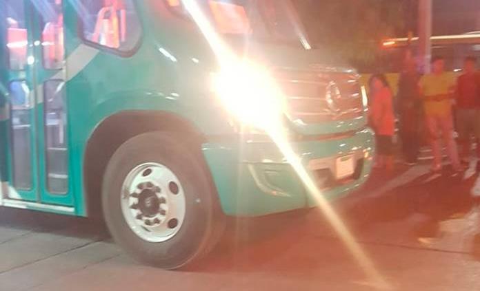 Camión urbano atropella a una estudiante de 17 años