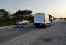 Anciano muere arrollado en la carretera Valles-Mante
