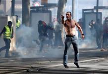 """""""Chalecos amarillos"""" reúnen a 31 mil en su protesta de hoy"""