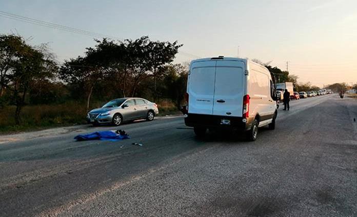 Anciano muere arrollado en Ciudad Valles