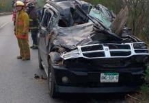 Un muerto y un lesionado, saldo de accidente carretero en Valles