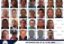 Destaca detención de presuntos secuestradores y violadores en la última semana