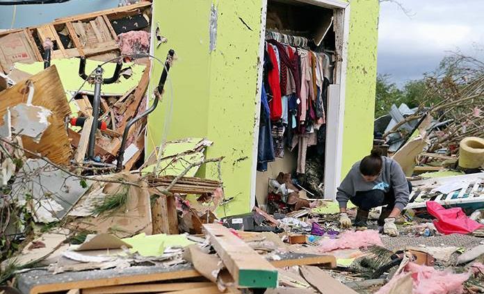 Resultado de imagen para Tormentas azotan el sur de EE.UU. al menos 8 muertos