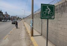 Ciclopista en la Av.Seminario, sucia y obstruida: usuarios