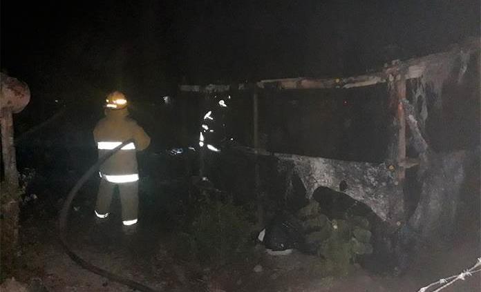 Incendia acaba con una vivienda en Ciudad Valles