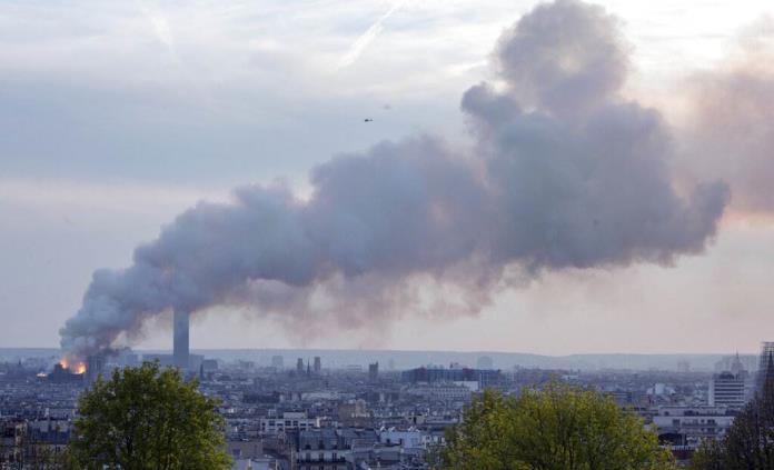 Las reacciones en el mundo del deporte por el incendio en Notre Dame
