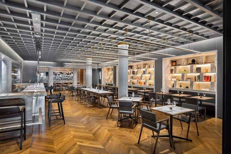 El restaurante Intersect by Lexus