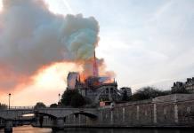 Se incendia la catedral de Notre Dame de París (FOTOS Y VIDEOS)