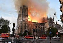 Con incendio en Notre Dame el mundo pierde parte de su historia