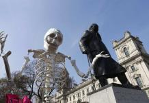 Centro de Londres, paralizado por rebelión contra el cambio climático