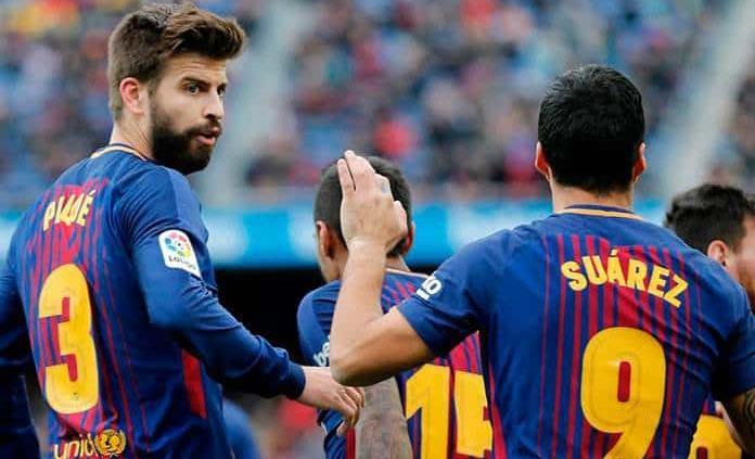 Barcelona confía de nuevo en Piqué para frenar al United en Champions
