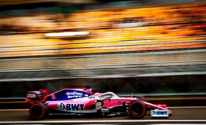 """""""Checo"""" sumó al quedar octavo en GP 1000 de F1"""