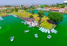 Inaugura Chimalhuacán lago artificial de 55 mdp