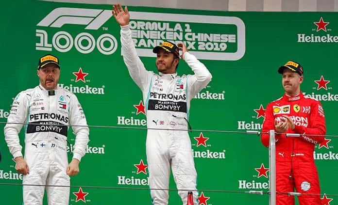 L. Hamilton gana su 6to. GP de China