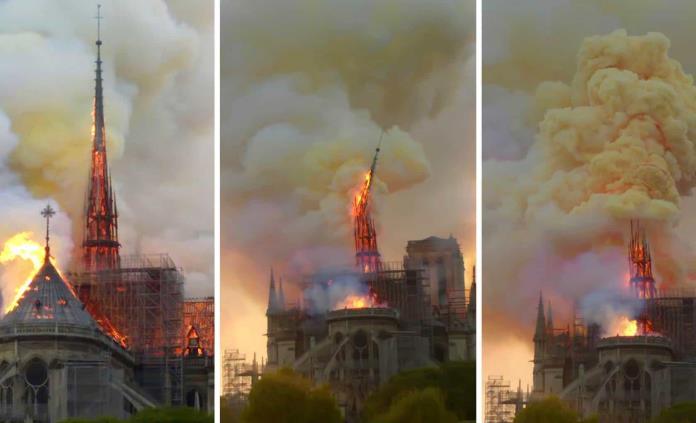 Gobierno francés cree que la estructura de Notre Dame está a salvo