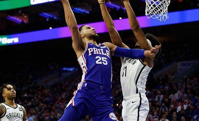 Sixers exhibe poderío ante Nets, 145 a 123