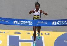 Degefa y Cherono ganan Maratón de Boston, el más antiguo del mundo