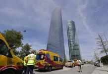 Desalojan rascacielos en Madrid por amenaza de bomba