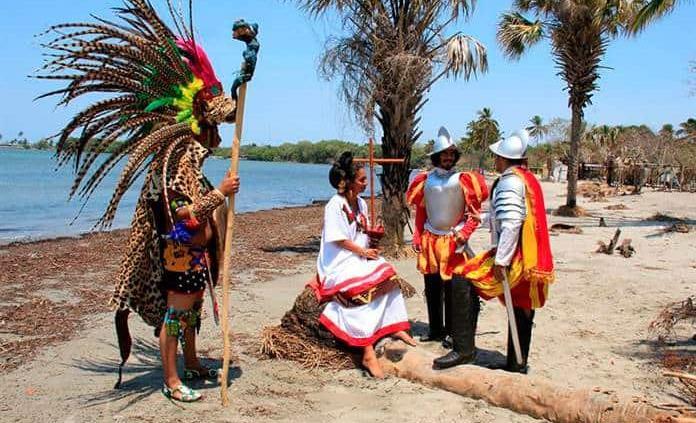 Católicos conmemoran 500 años de la primera misa en México