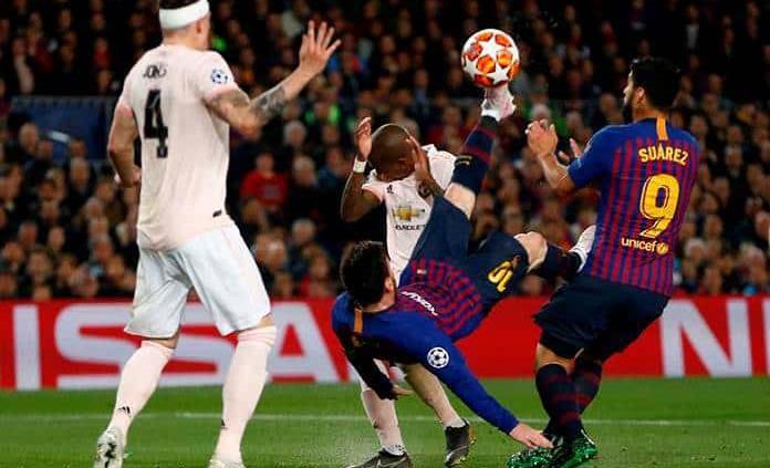 El Barcelona golea al United y se clasifica a semifinales de la Champions League