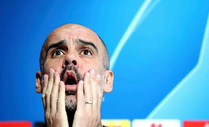 """Pep Guardiola dice que es un """"fracaso"""" en Champions League"""