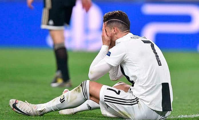 Juventus no da la talla pese a Cristiano