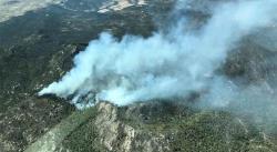 Incendio en Sierra de San Miguelito moviliza a Protección Civil, Bomberos y SSPE