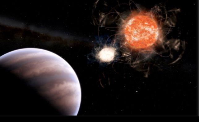 Descubren evidencia de exoplaneta con masa 13 veces mayor a Júpiter