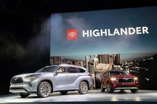 Presentación del Highlander Toyota.