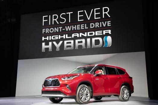 Highlander ofrecerá versión híbrida.
