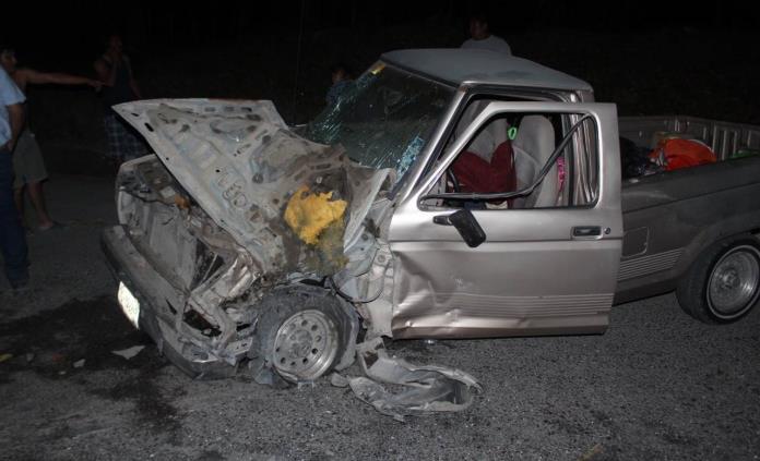 Familia potosina sufre accidente carretero durante sus vacaciones en la Huasteca