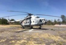 ¿Cómo es el helicóptero de la Sedena que apoya en el combate al incendio en la sierra de San Miguelito?