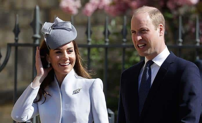 Kate y William reaparecen sonrientes tras escándalo de Meghan y Harry