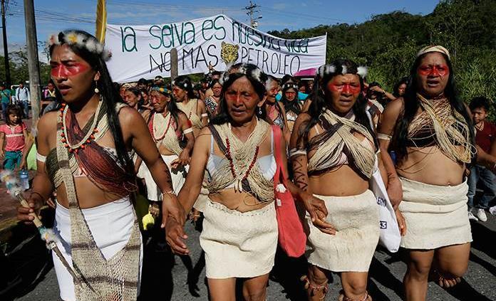 Ecuador: indígenas de la amazonia ganan demanda al estado