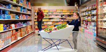 Prueban frenos automatizados en carritos de supermercado