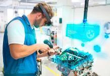 Realidad virtual para armar autos