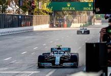 Valtteri Bottas se lleva GP de Azerbaiyán en un duelo con Lewis Hamilton