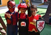 Festejan a los niños en el Instituto Andes