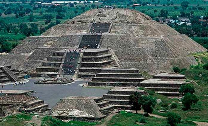 Pirámides de Teotihuacán, principal atracción de turistas colombianos