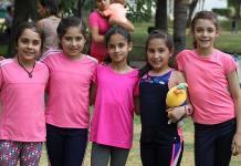 Atractivo festejo a los niños en el Club Deportivo Potosino