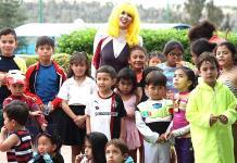 Juegos extremos a los pequeños en el Club Libanés Potosino