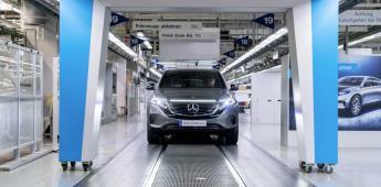 Inicia Mercedes la producción del EQC, su SUV 100% eléctrica